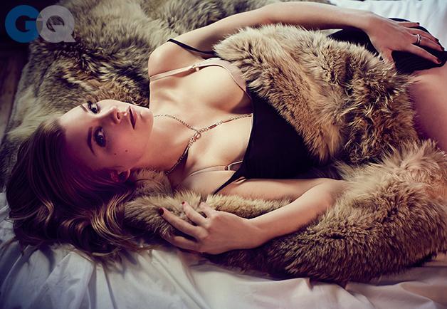 Натали Дормер постельные сцены
