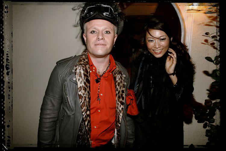 """45 лучших фото Кита Флинта - вокалиста группы """"The Prodigy"""", а также фото его жены Маюми Каи"""