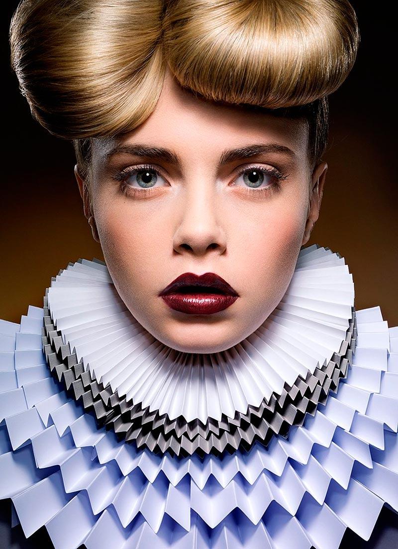 Кара Делевинь портрет из фотосессий