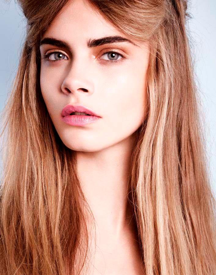 Кара Делевинь фотосессии портрет