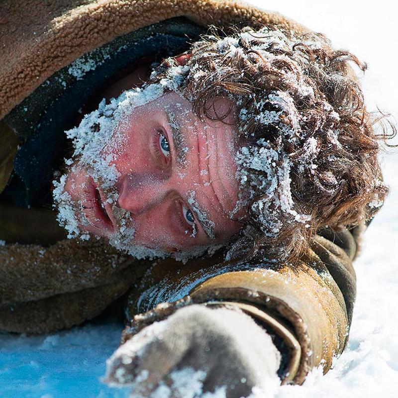 "Замерзший Билл Хаскел Ричард Мэдден в сериале ""Клондайк"""