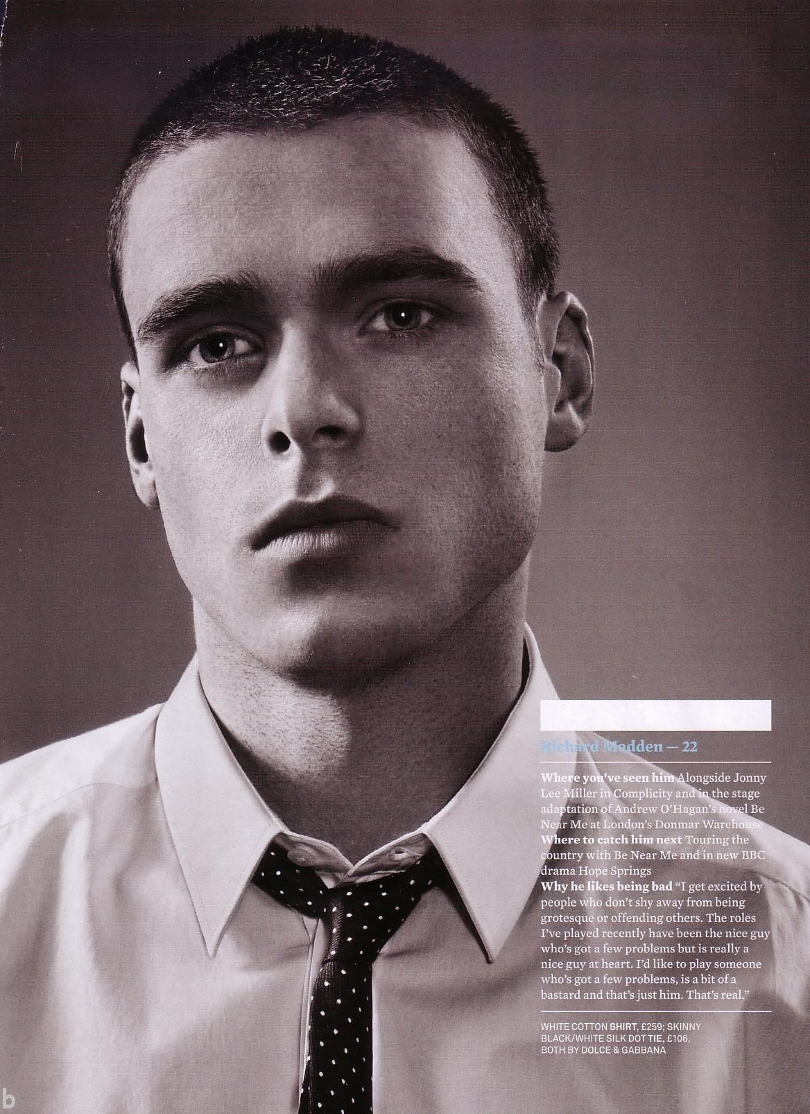 Молодой юный Ричард Мэдден