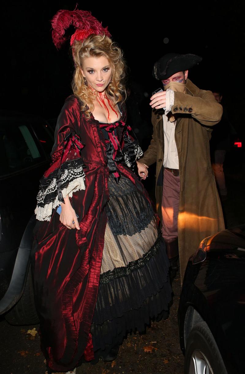 Натали Дормер Хэллоуин 2014
