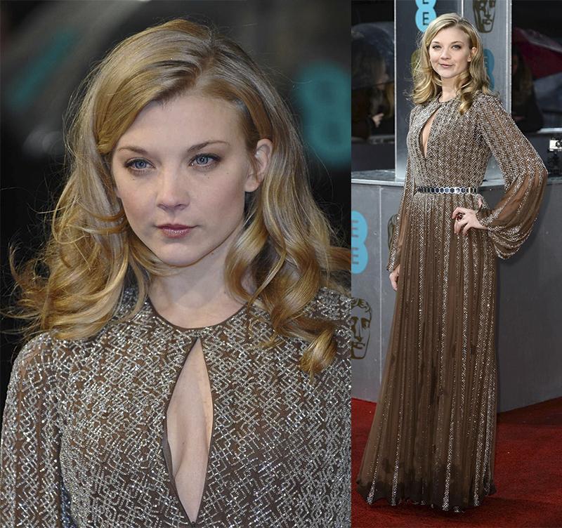 Натали Дормер лучшие образы красной дорожки 2005-2013 длинное платье
