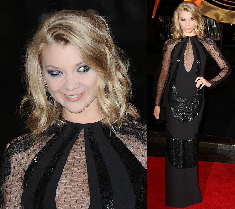 Натали Дормер лучшие образы красной дорожки 2005-2013 косяк в макияже