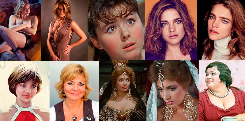 50 известных и знаменитых актрис и певиц с именем Наталья
