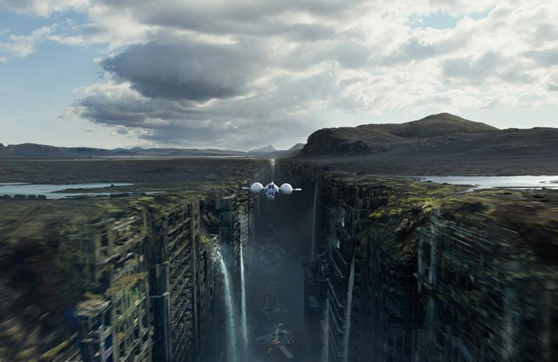 """Фильм """"Обливион"""" так выглядит земля после ядерной войны"""