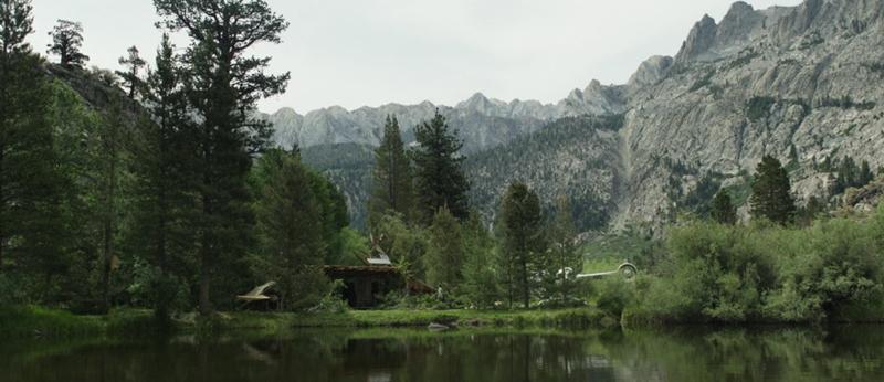 """Домик у озера из фильма """"Обливион"""""""