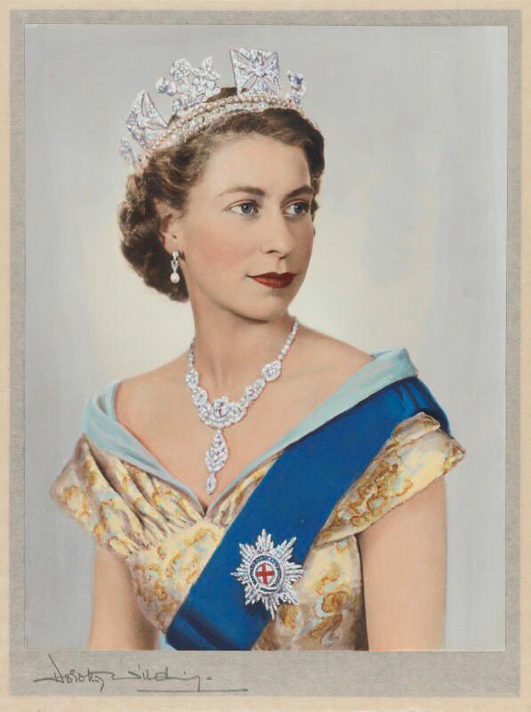 балсам активен королева великобритании елизавета фото молодость при