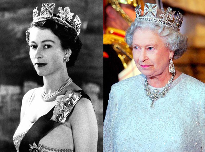 королева елизавета английская в молодости фото особой внимательностью следует