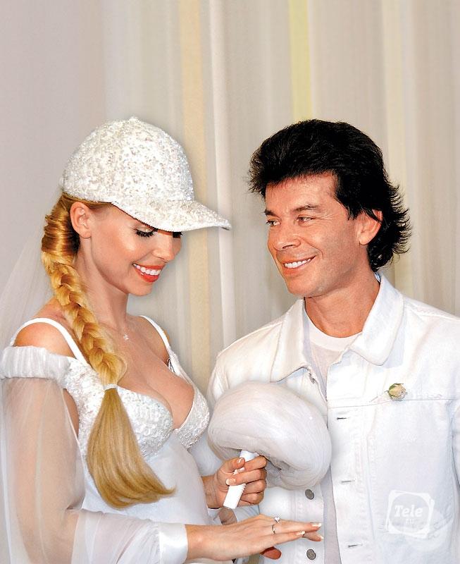 Фото свадьбы олега газманова и марины