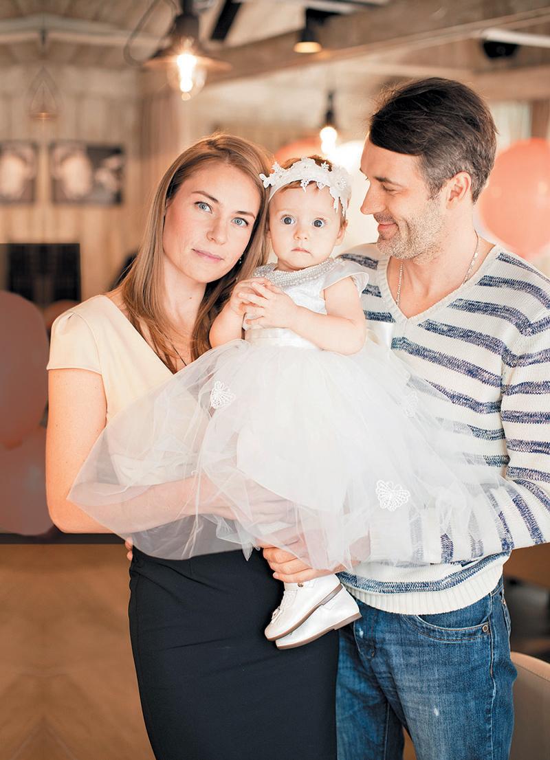 Павел трубинер с женой ольгой мухортовой фото