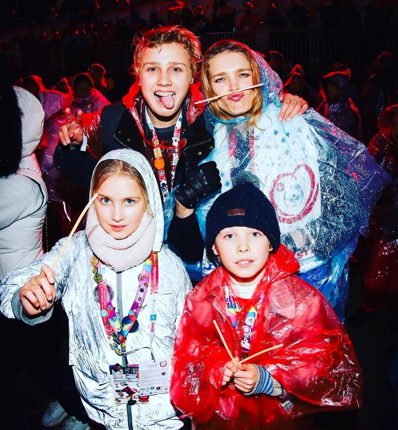 60 фото Натальи Водяновой, детей, мужей Джастина Портмана, Антуана Арно