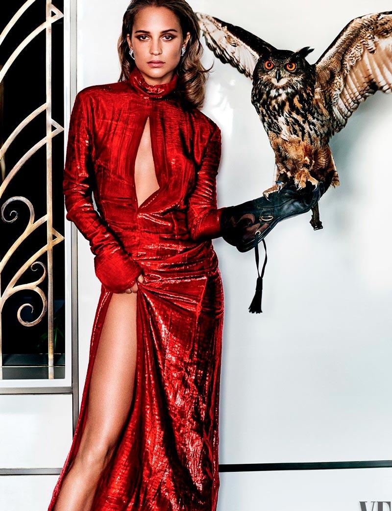 40 лучших, качественных фото с Алисией Викандер