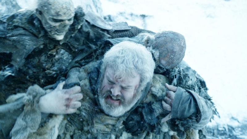 Белые ходоки напали на Ходора Игра Престолов финал