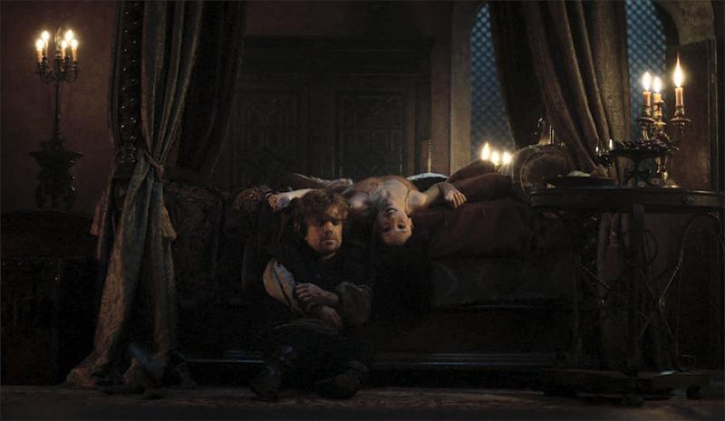 Тирион убивает Шаю смерть Игра Престолов финал