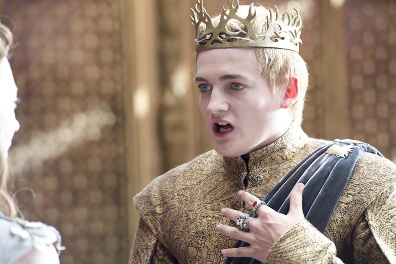 """Король Джоффри в сериале """"Игра Престолов"""" умирает его отравили"""