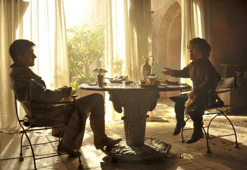 Джейме и тирион обедают вместе