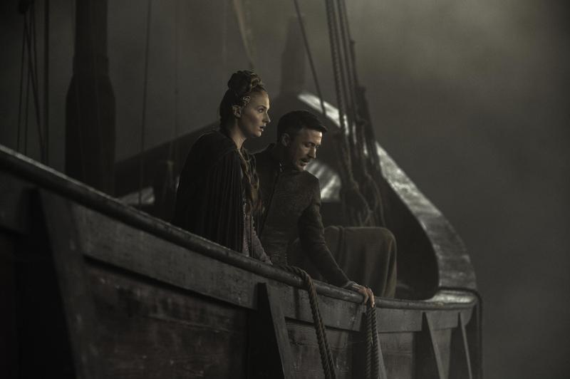 Санса Старк сбегает с Петиром Бейлишем Мизинцем из Королевской Гавани