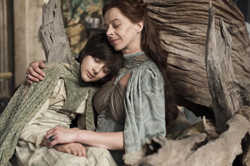 Лиза Аррен и её сын Робин