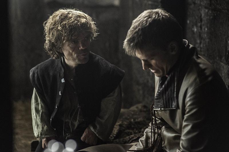 Джейме навещает Тириона в тюрьме 7 серия 4 сезон Игры Престолов