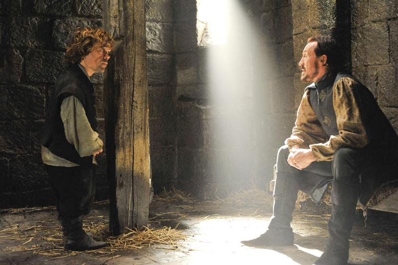 Брон разговаривает в тюрьме с Тирионом Игра Престолов 4 сезон