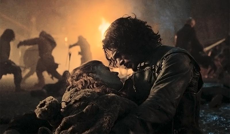 Игритт умирает на руках у Джона Сноу Ира Престолов