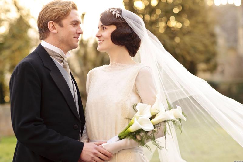 свадьба Мэри и Мэтью  Аббатство Даунтон