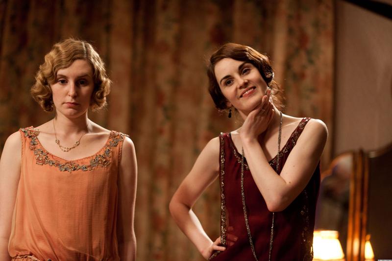 фото Эдит, Мэри Кроули Аббатство Даунтон платье наряды