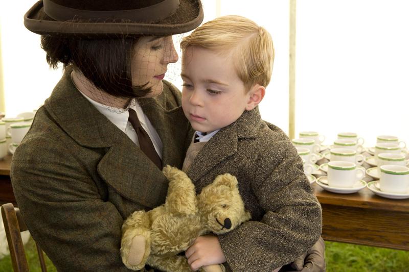 фото Мэри и Сына Аббатство Даунтон платье наряды