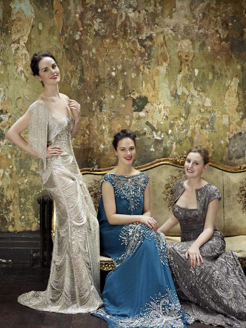 Актрисы и актеры Аббатства Даунтон фото