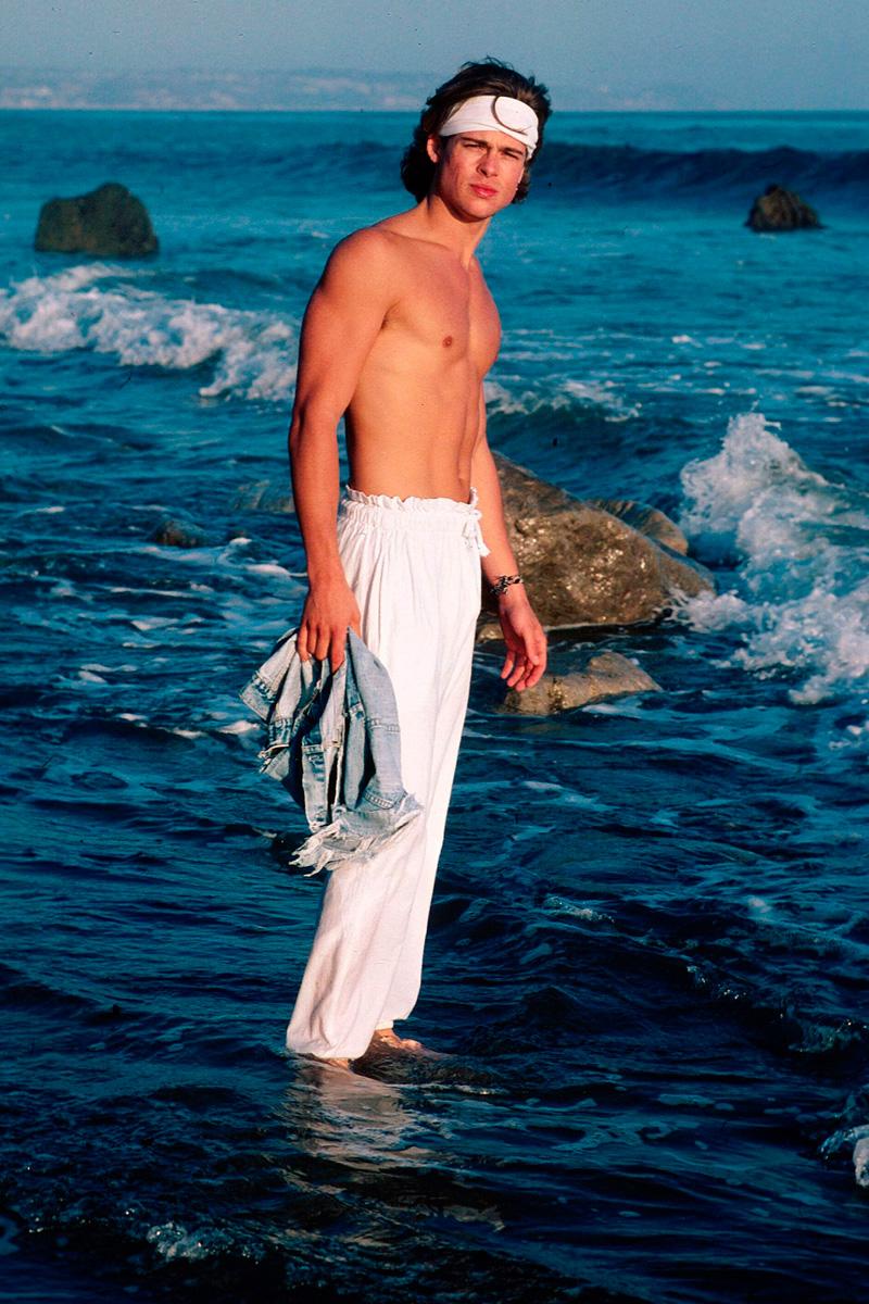 Брэд Питт - 85 лучших фото из фотосессий: молодой, юный, сейчас старый