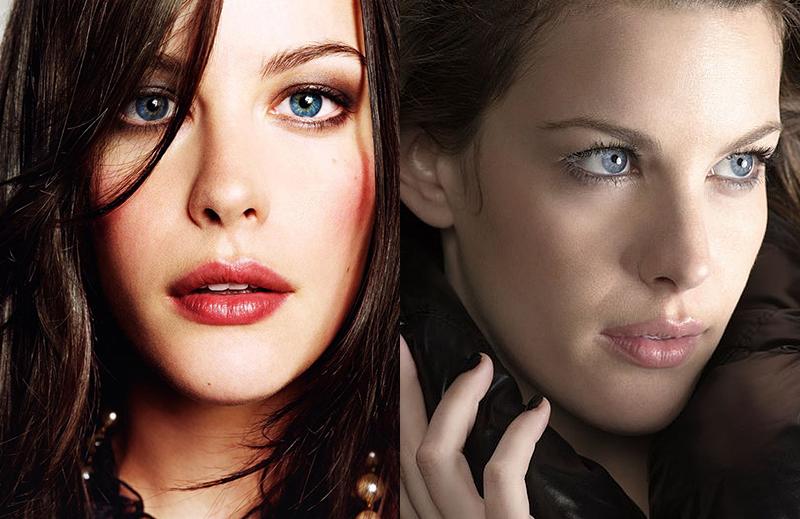 Самые шикарные красивые брюнетки Голливуда с длинными волосами и голубыми глазами Лив Тайлер
