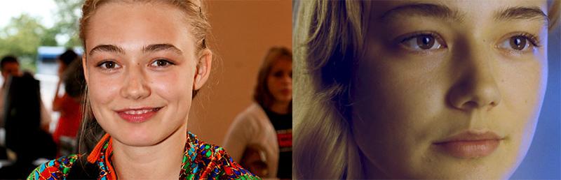 Оксана Акиньшина актриса густые широкие черные невыщипанные брови