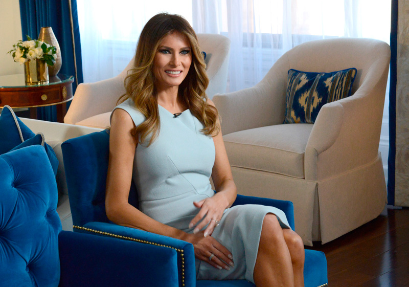 Жена Дональда Трампа Мелания Трамп: 70 фото в молодости, до пластики и после