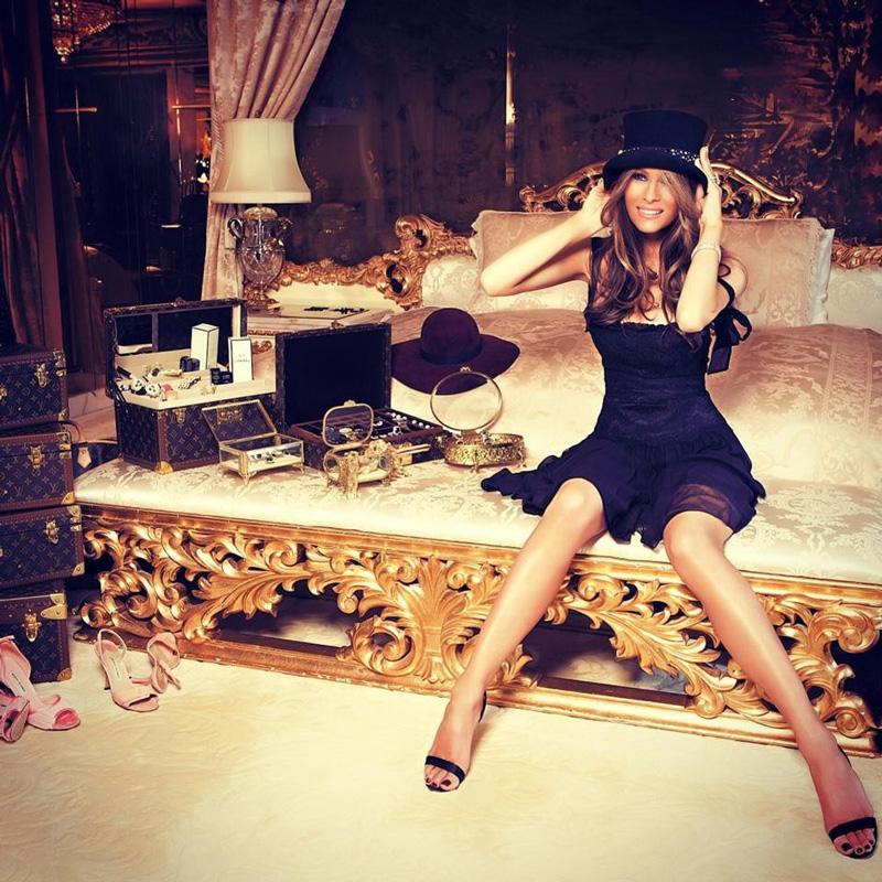 Мелания Трамп: 70 фото в молодости, до пластики и после, обнаженная