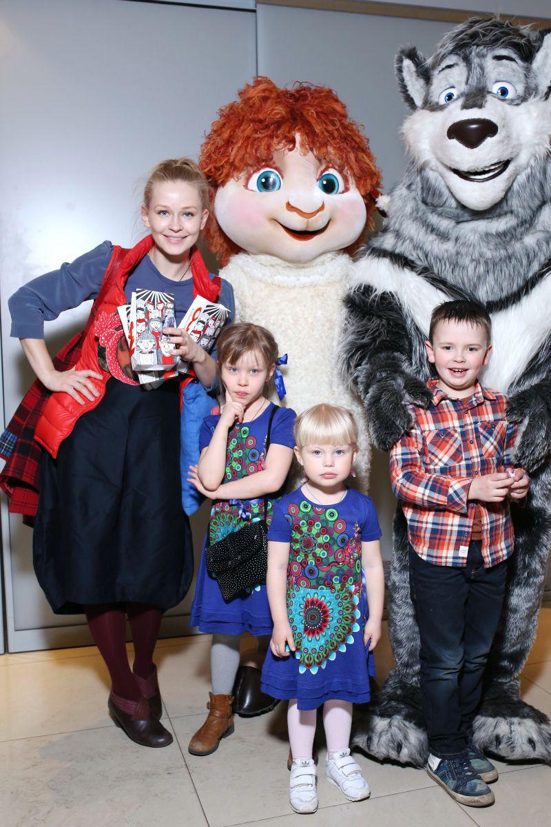 Юлия пересильд семья фото