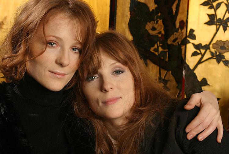 Полина и Ксения Кутеповы рыжие российские актрисы с веснушками