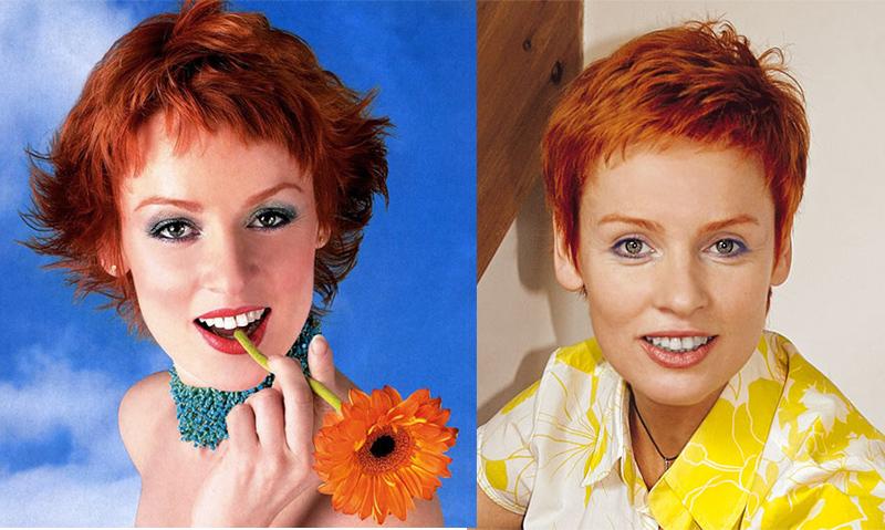 Жанна Эпле рыжая русская актриса