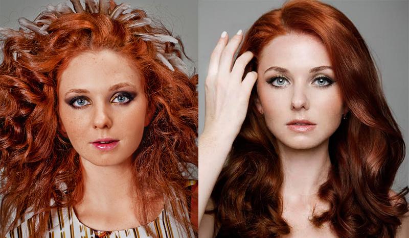 Лена Катина рыжая российская певица с веснушками