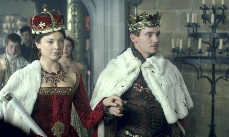 Коронация Тюдоры Натали Дормер в роли Анны Болейн и Джонатон Рис-Майерc в роли короля Генриха VIII