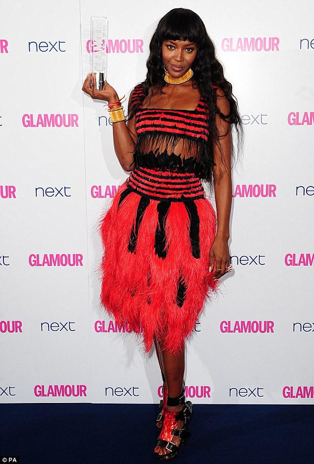 Наоми Кэмпбелл Ежегодное Вручение наград «Женщина года» британского Glamour 2014