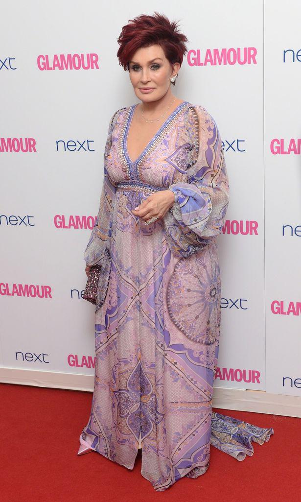 Шерон Озборн Ежегодное Вручение наград «Женщина года» британского Glamour 2014