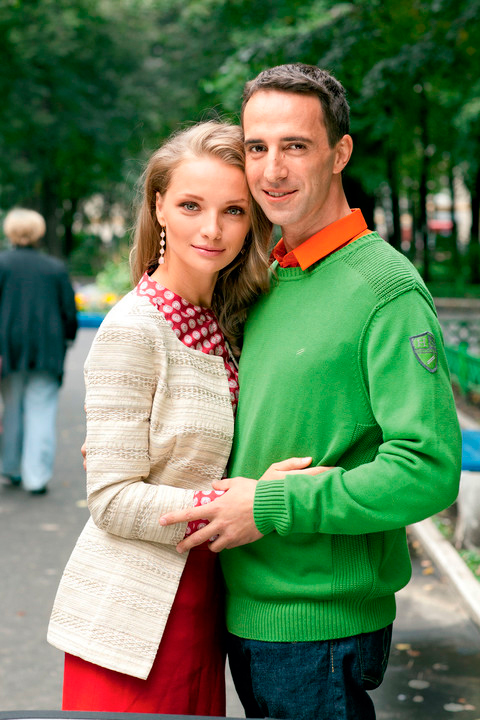 54 фото Екатерины Вилковой и Илью Любимова и их детей