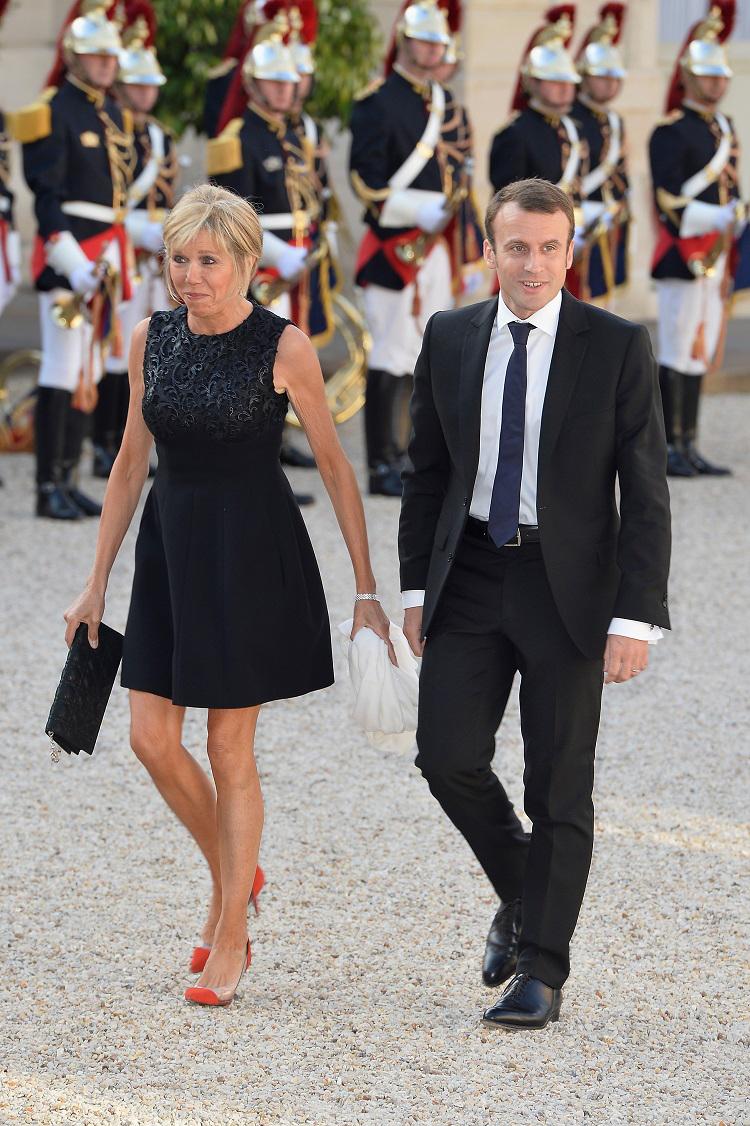 65 фото Бриджит Макрон - жены президента Франции Эммануэля Макрона