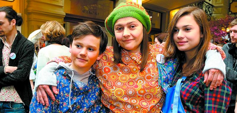 Мария Голубкина 40 лучших фото ее и её детей: дочери Анастасия и Иван Фоменко