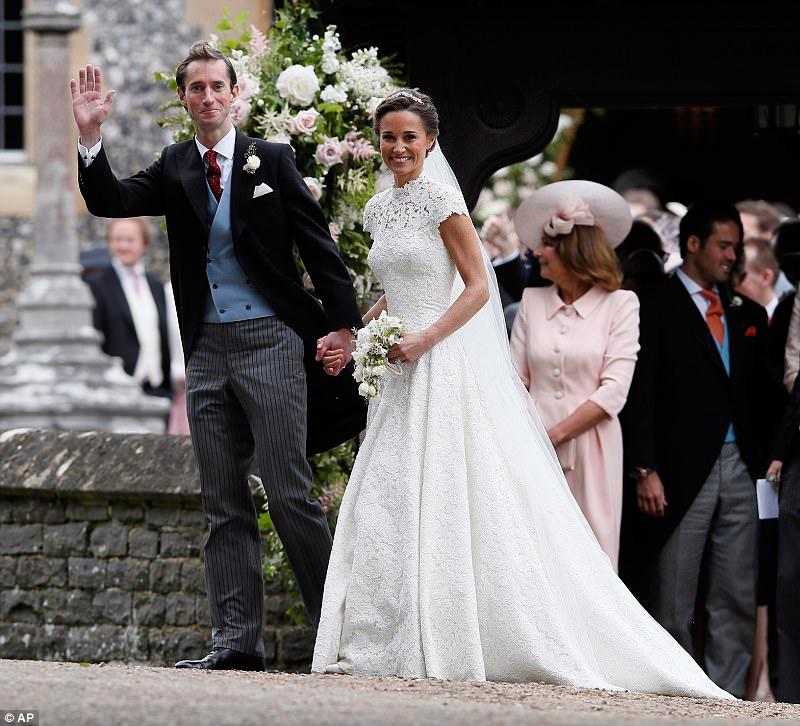55 фото Пиппы Миддлтон и ее мужа Джеймса Мэттьюса, свадебные также
