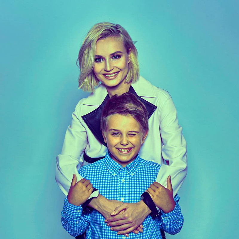 80 фото Полины Гагариной до и после, а также фото мужа и сына