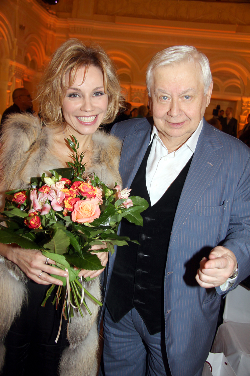 Олег табаков и марина зудина и их дети фото