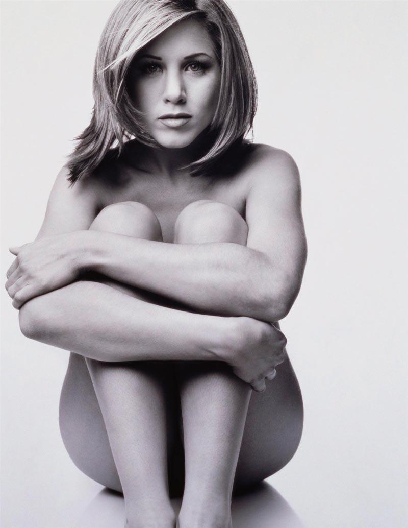 Дженнифер Энистон голая в молодости